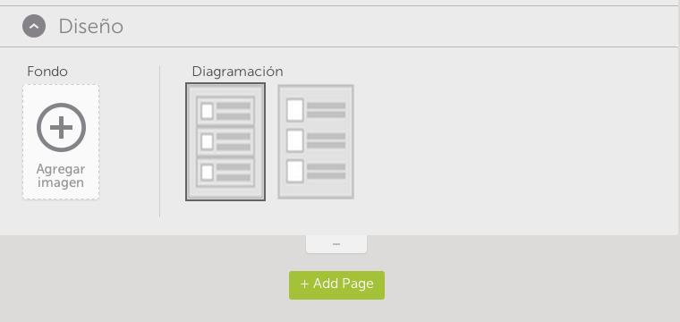 diseño applicacion