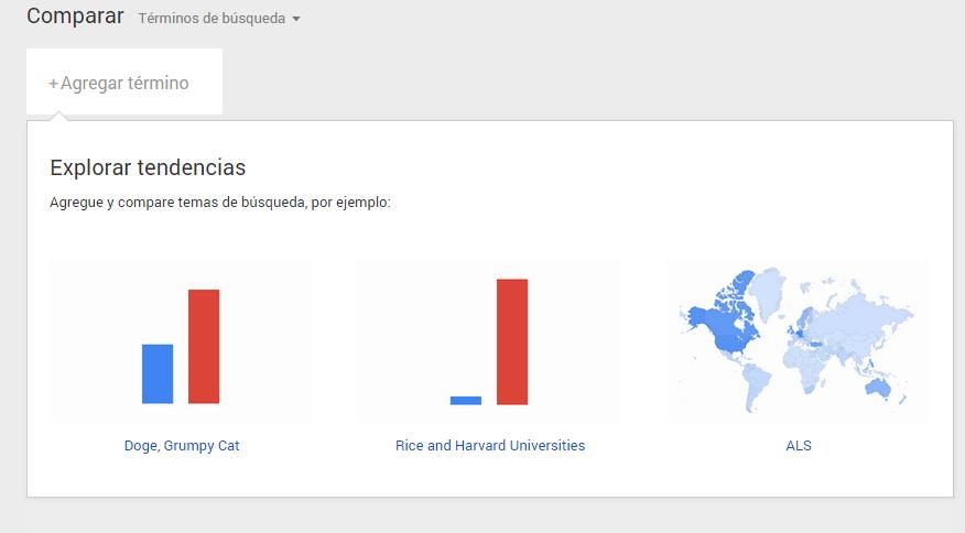 google busquedas comparar