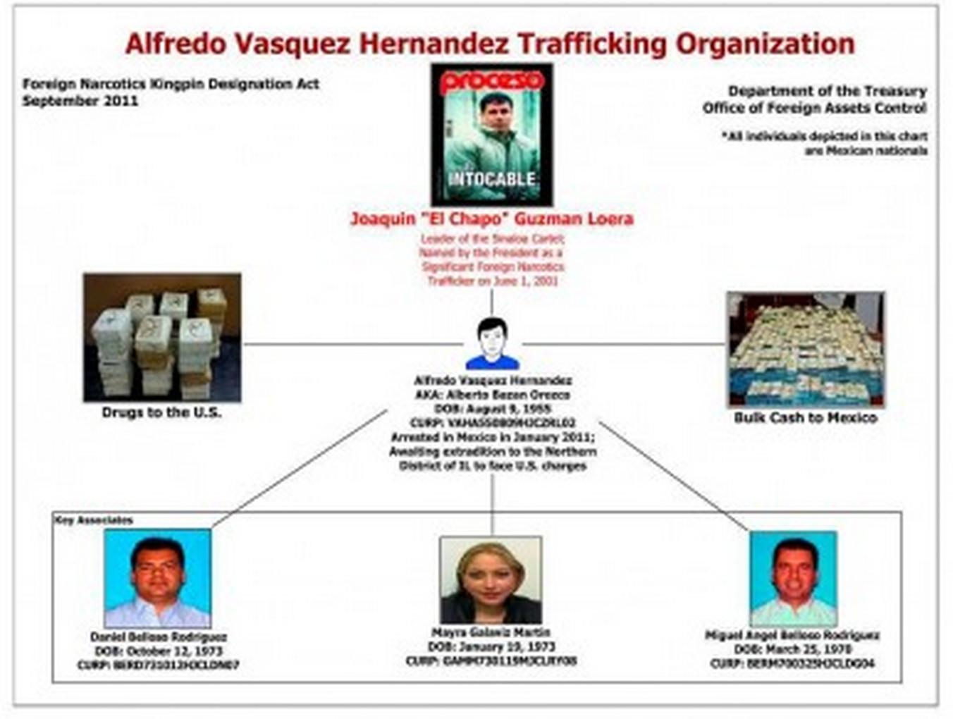 organigrama Proceso México