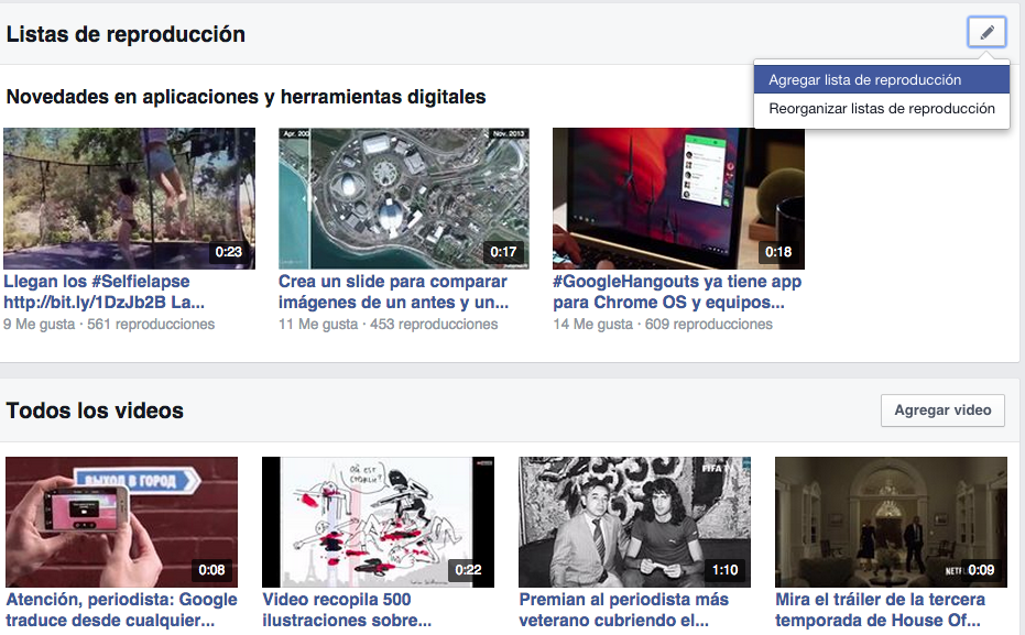 edicion facebook video