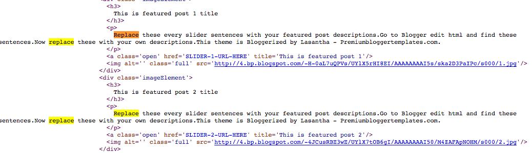 html post