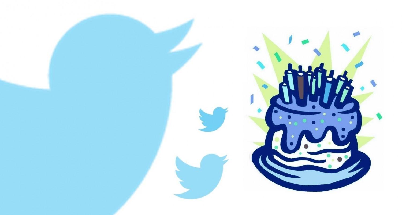 Resultado de imagen de aniversario twiter