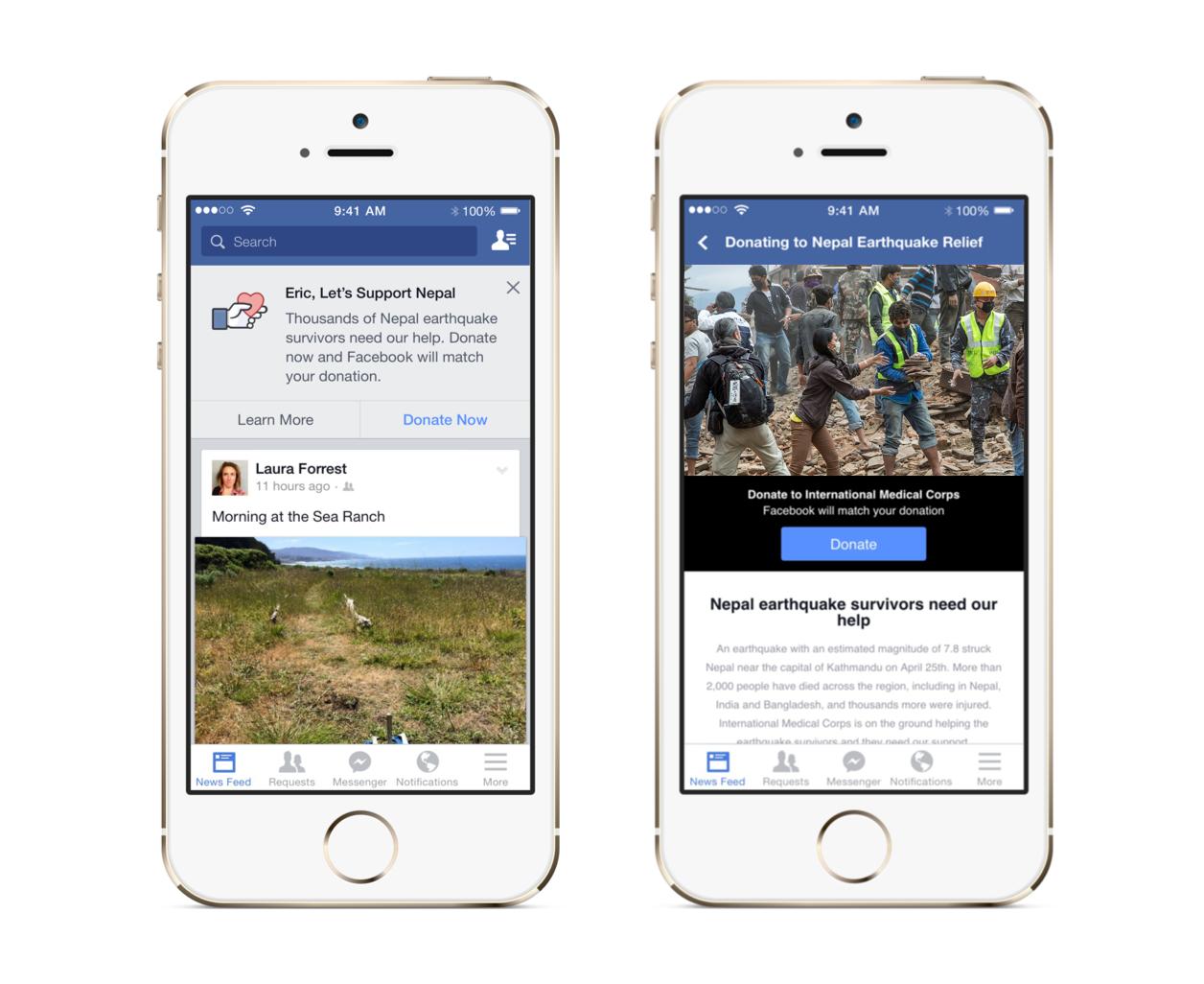 FacebookEarthquake