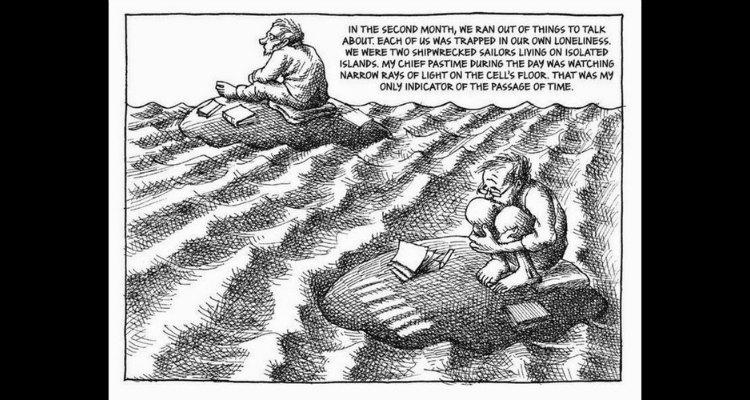El caricaturista iraní Mana Neyestani