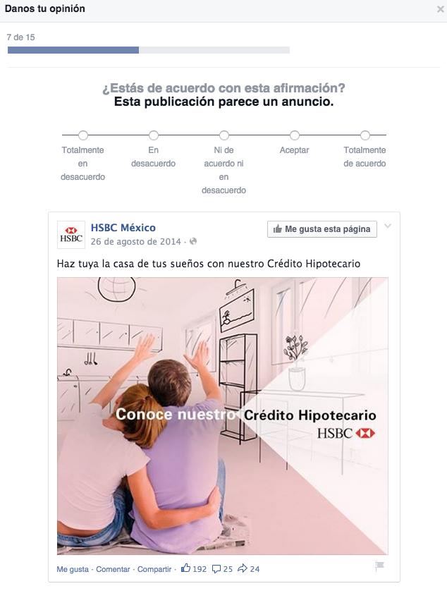 facebook encuesta