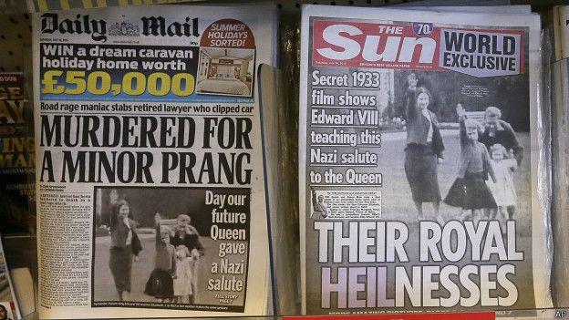 The Sun y otros medios