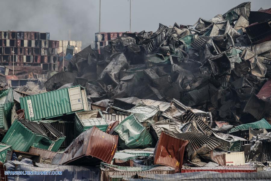 CHina explosión 2