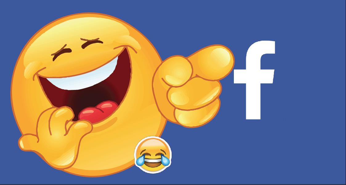 Usuarios de Facebook comparten contenido divertido y que inspira