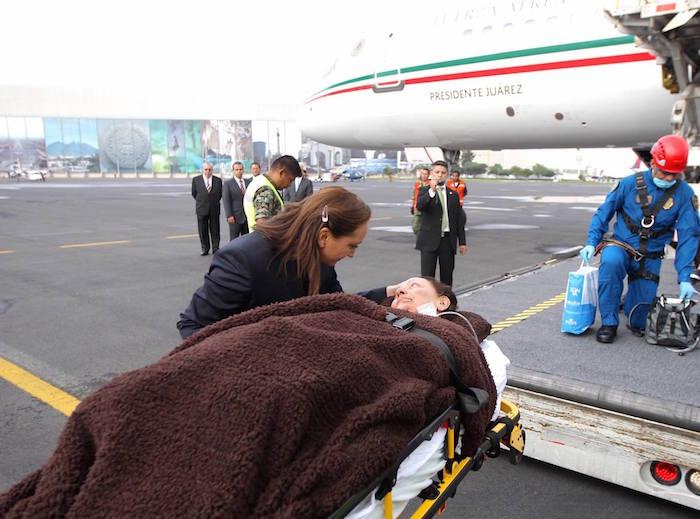 Mexicanos heridos