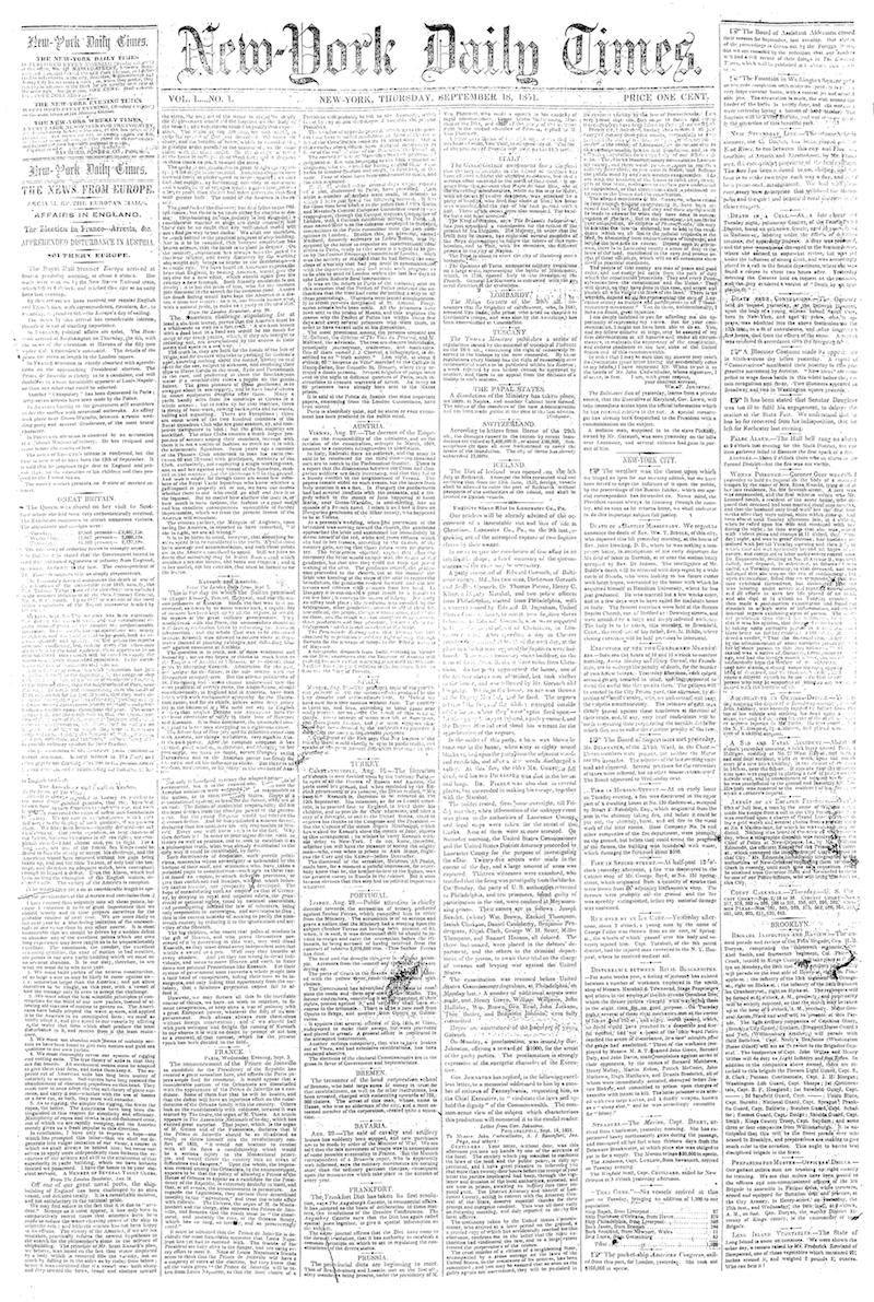 NYT tapa primera