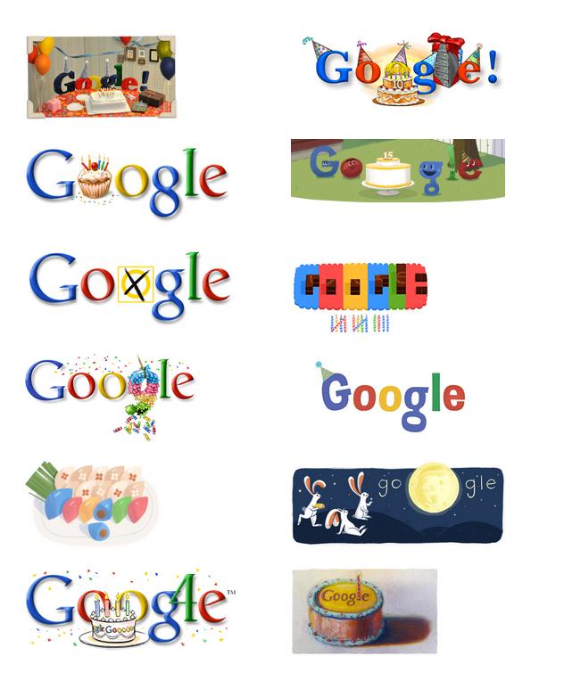 google doodle aniversario historia