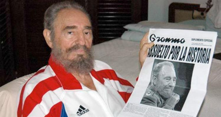 Fidel Castro y Granma