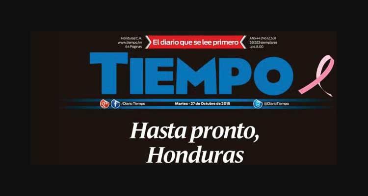 Tiempo-Honduras