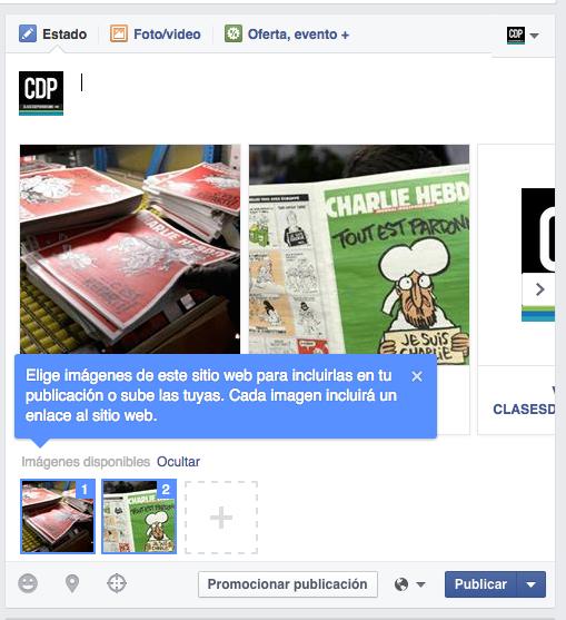 facebook carrusel