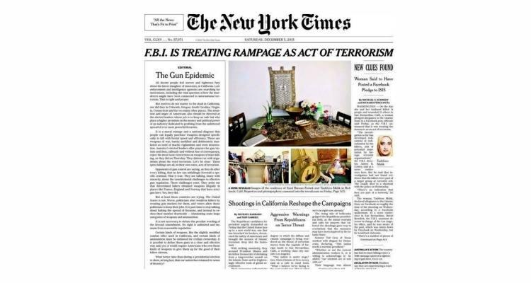 Editorial NYT