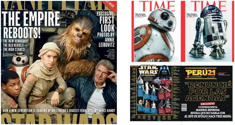 Star Wars Portadas
