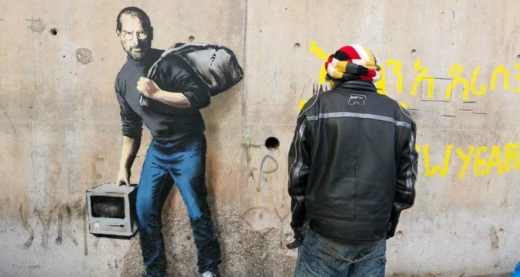 SteveJobs Banksy