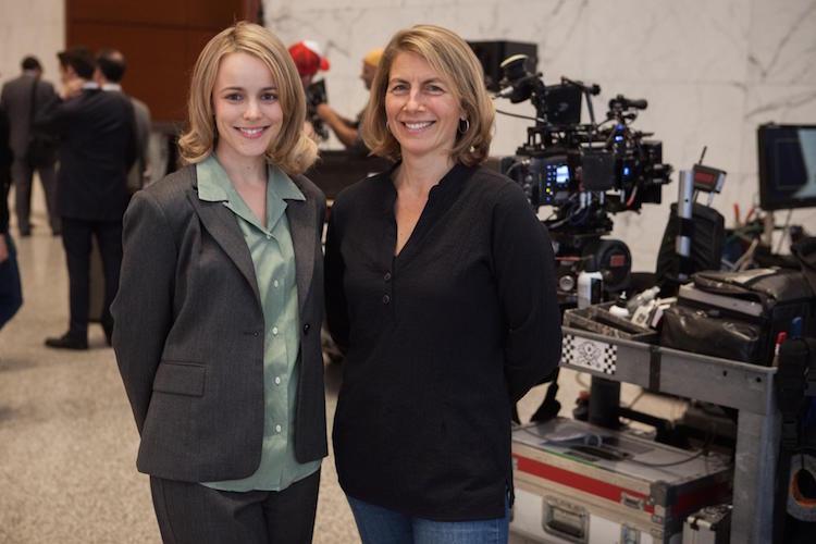 Rachel McAdams (izquierda) y Sacha Pfeiffer.
