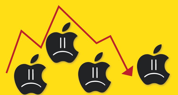 Apple reporta menos ventas de iPhones en último trimestre