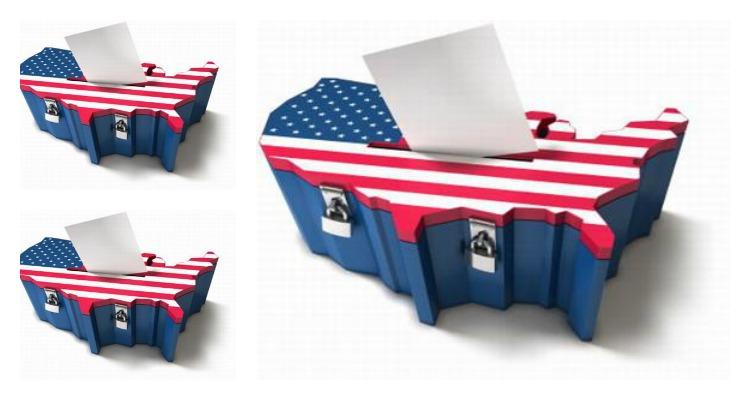 votación