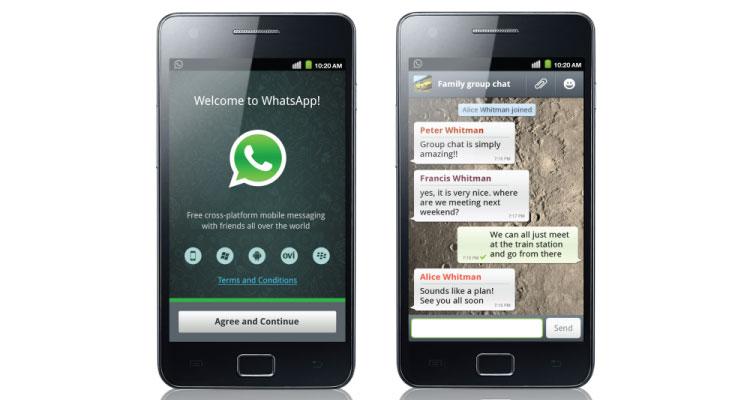 Whatsapp está entre las apps favoritas en Android en 109 países