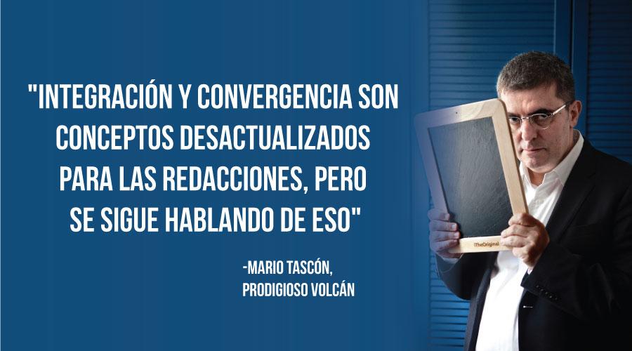 """Mario Tascón: """"A los periodistas les da miedo perder con los cambios, pero en verdad ganan"""""""
