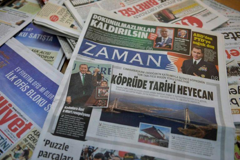 Lo lograron: Diario turco Zaman adopta una línea progobierno