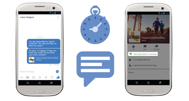 Facebook actualiza su guía para la mensajería en las páginas