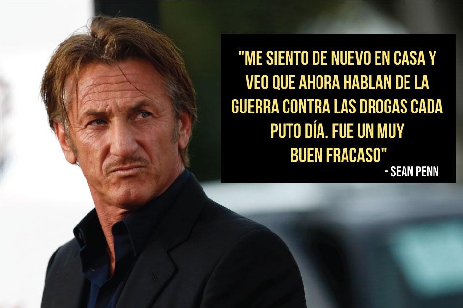 "Sean Penn sobre entrevista a El Chapo: Fue un ""buen fracaso"""