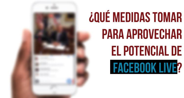 Así un periodista realiza una cobertura de elecciones con Facebook Live