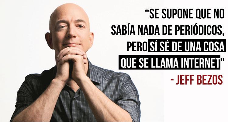 Jeff Bezos revela en libro autobiográfico cómo compró y reflotó el Washington Post