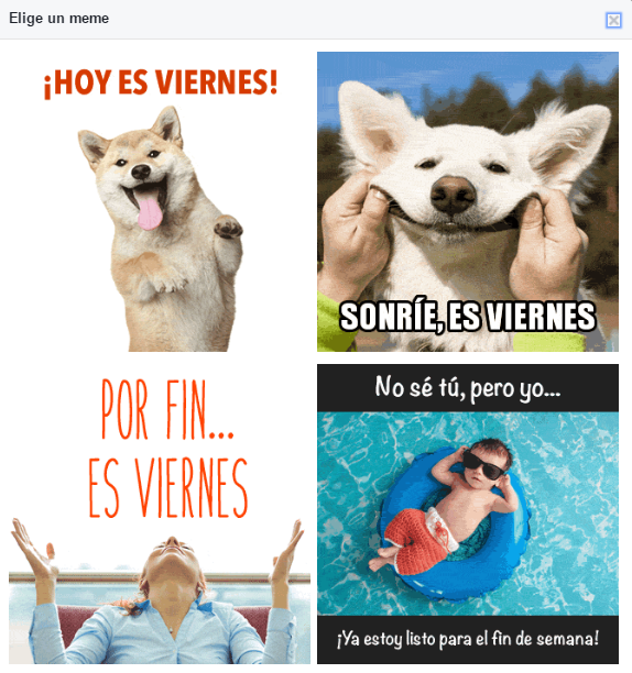 meme facebook viernes