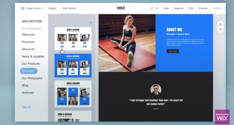 Wix lanza servicio inteligente para crear sitios web