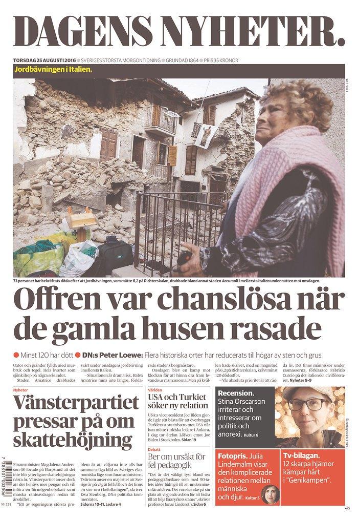 Dangens Nyheter_Sweden