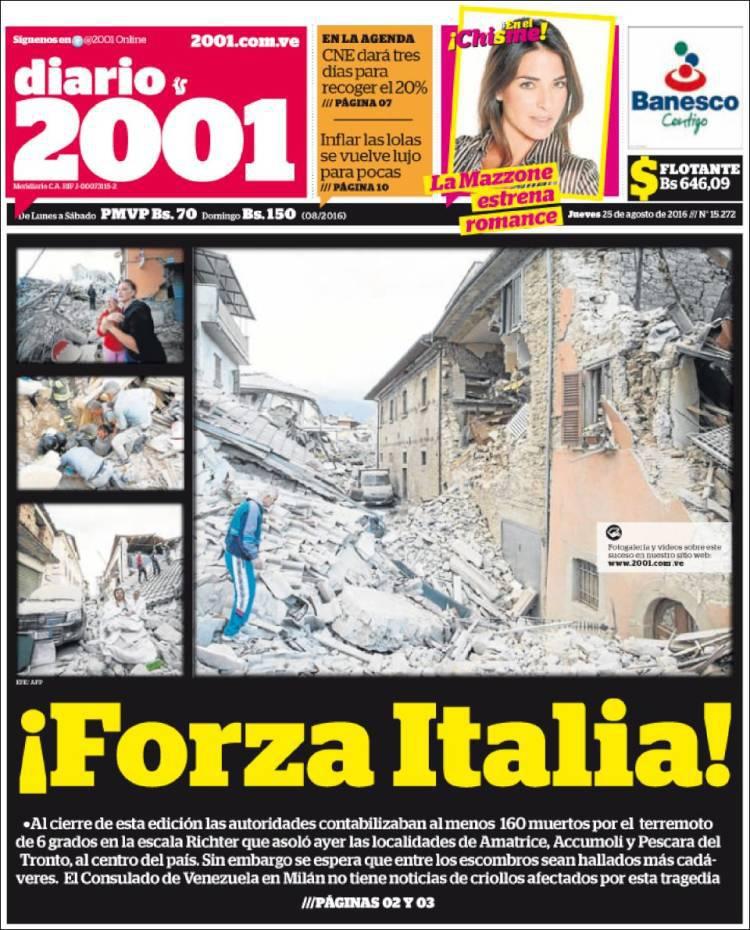 Diario 2001_Venezuela