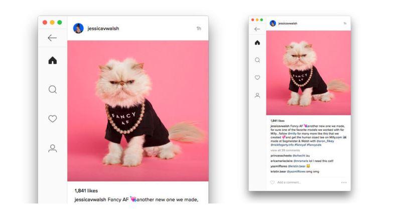 Prueba esta herramienta para visualizar Instagram en el escritorio