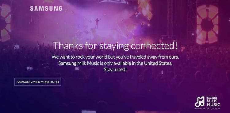 Samsung se rinde y cierra su servicio de música en streaming