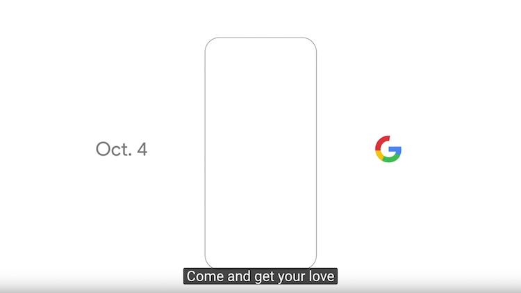 Google presentará su smartphone el próximo 4 de octubre