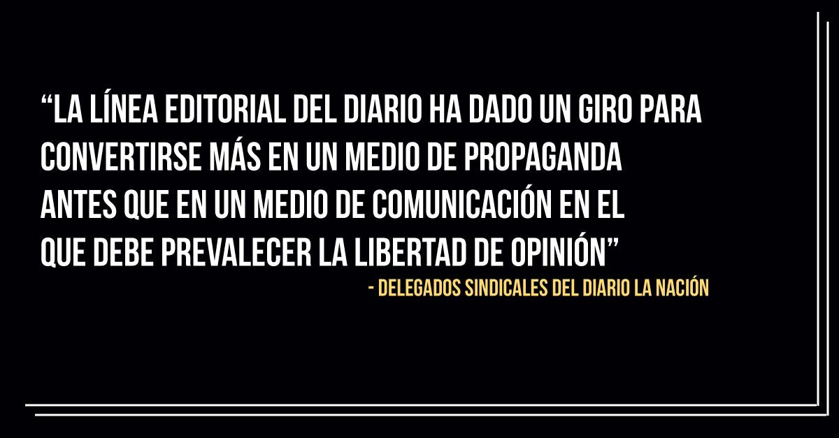 Paraguay: Periodistas de La Nación expresan preocupación por despidos