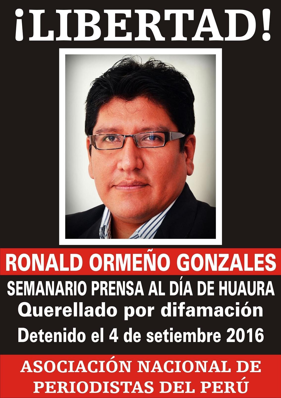 RONALD ORMeño