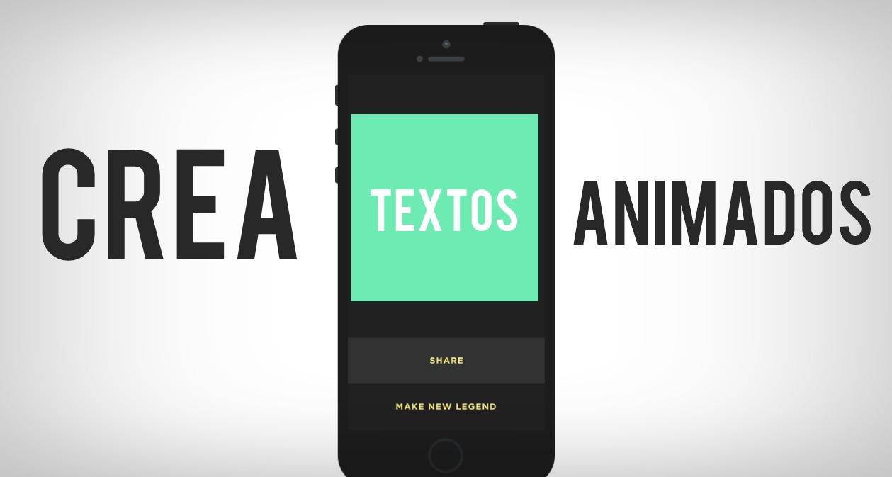 Una App Para Crear Textos Animados Para Tus Redes Sociales