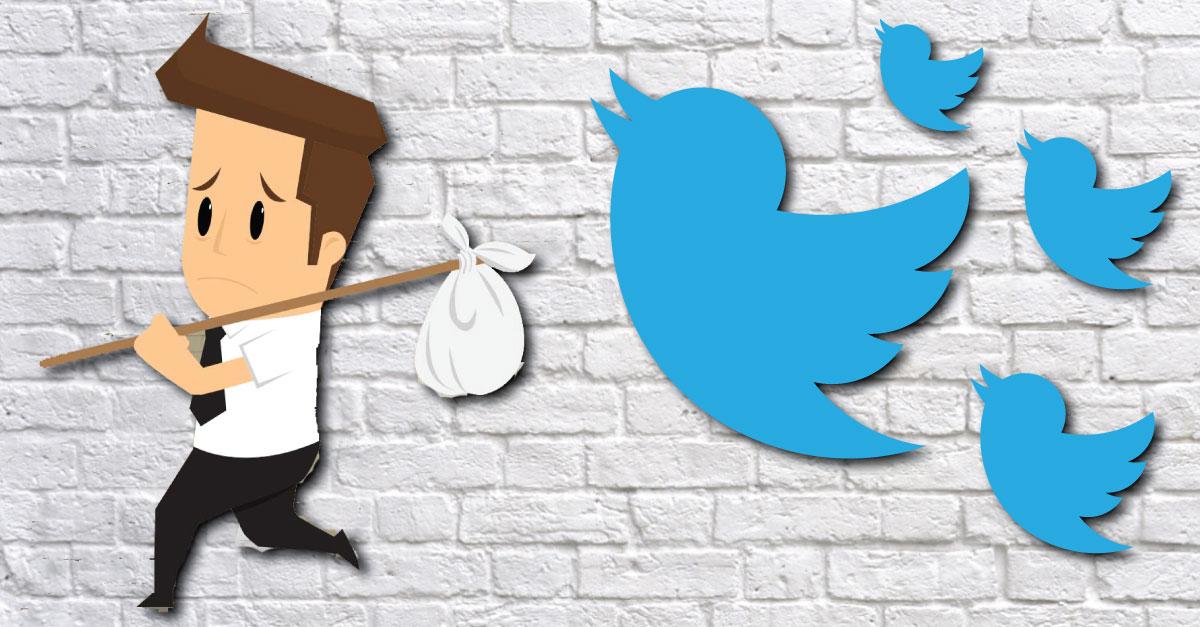 Twitter despide a 20 empleados en la India