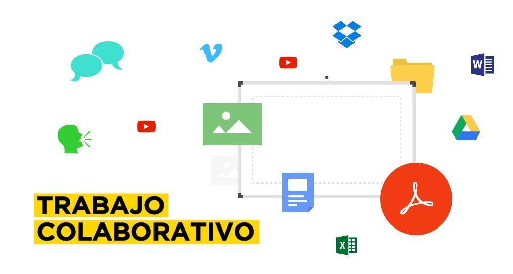 Una pizarra colaborativa para generar grandes ideas