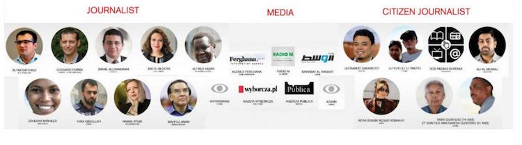 Estos son los nominados al Premio Libertad de Prensa 2016