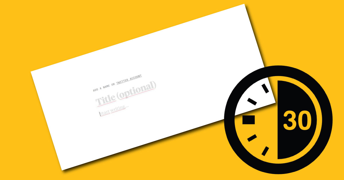 Publica en la web en poco tiempo con esta plataforma minimalista