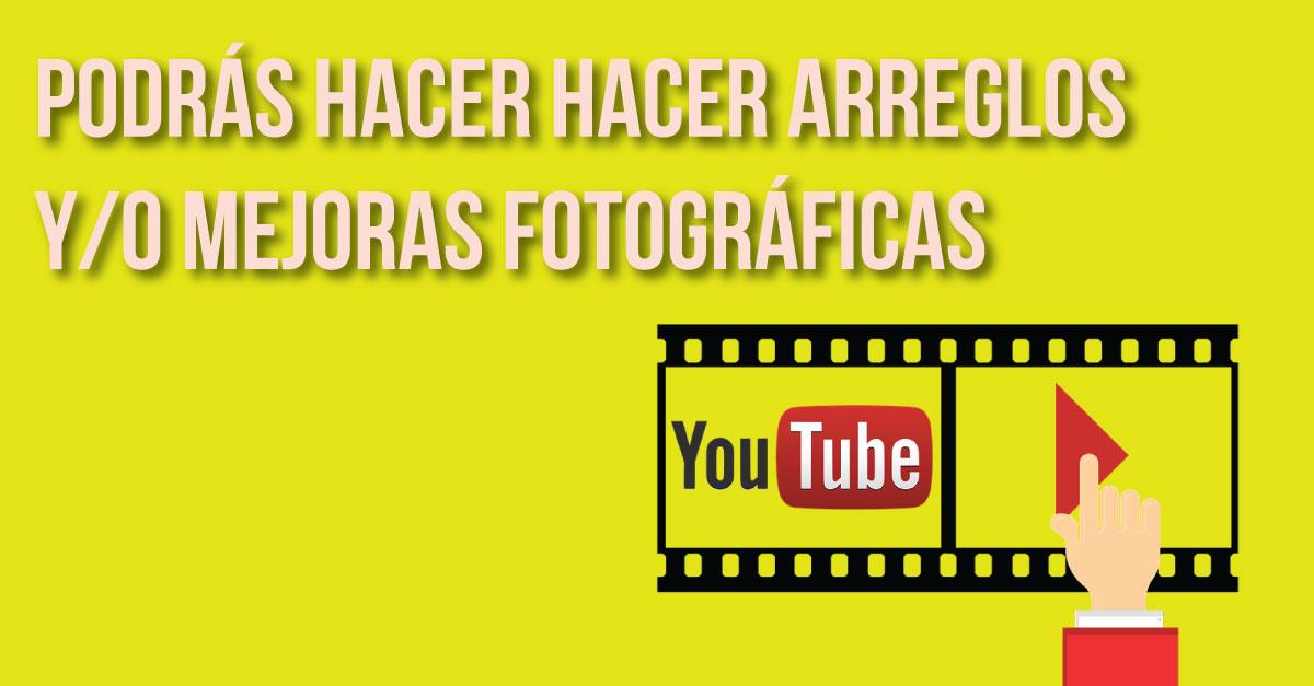 5 canales de Youtube que te enseñarán a editar fotos