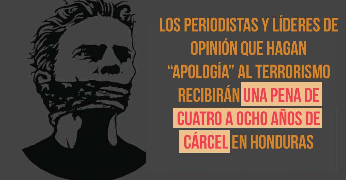 Congreso hondureño rectificará ley que vulnera libertad de expresión
