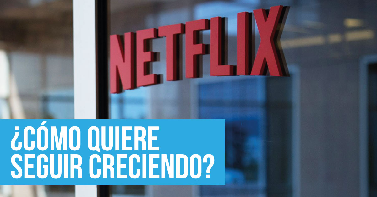 Netflix supera previsiones en el crecimiento de usuarios y esto debes saber