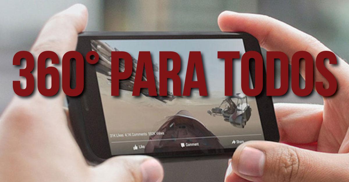 Todos podrán transmitir video en 360 grados desde Facebook