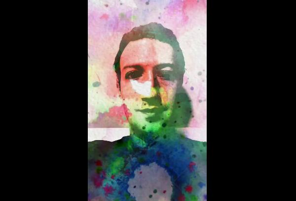 Marck Zuckerberg probó Facebook Stories y este fue el resultado